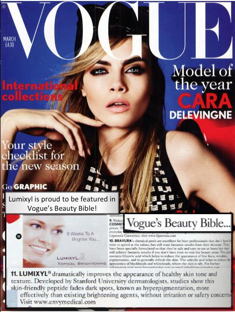 Lumixyl Vogue Cover