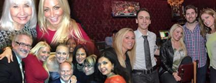 Leah Chavie and friends April 2013