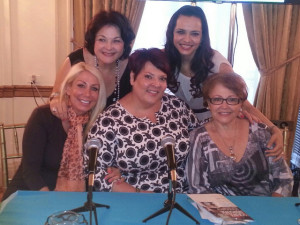 Lydia Sarfati, Leah Chavie and Repechage friends